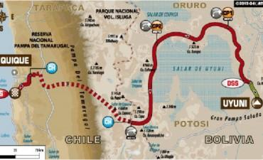 Dakar, día 9: la carrera cae en el Pacífico por un camino de sal y dunas