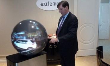 Una TV esférica propone una nueva manera de mirar contenidos