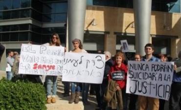 Dura protesta contra la embajada argentina en Israel: