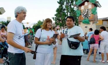 El Festival de La Salamanca se promocionó en Carlos Paz