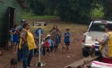 Más niños desnutridos, ahora en Misiones: dos guaraníes internados