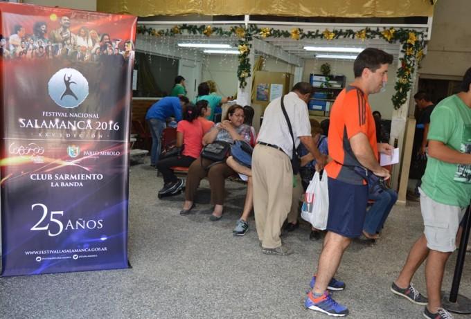 Con éxito comenzó la venta de entradas para La Salamanca