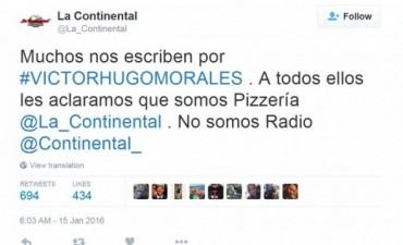 La pizzería que tuvo que explicar que no despidió a Víctor Hugo Morales