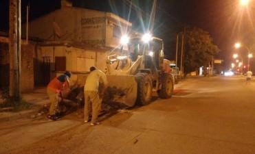 Realizan un amplio operativo de limpieza en la zona este de la ciudad