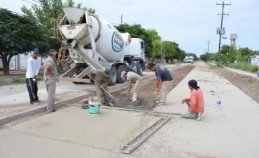 Realizan operativos de limpieza en los barrios San Fernando y Ampliación 25 de Mayo