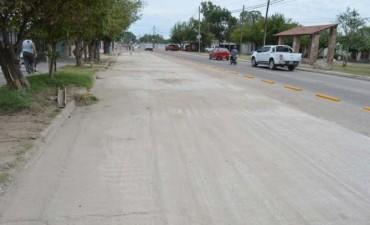 Culminó la obra de pavimentación de la ruta provincial 8