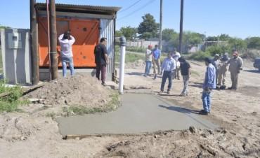 Se concretó la colocación de una bomba hidráulica en el barrio 9 de julio