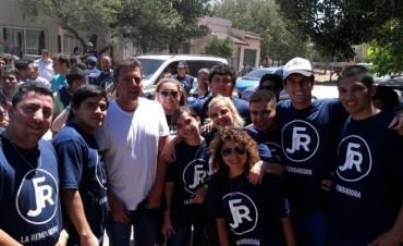 Enriquecedora experiencia de santiagueños en un encuentro de jóvenes del Frente Renovador