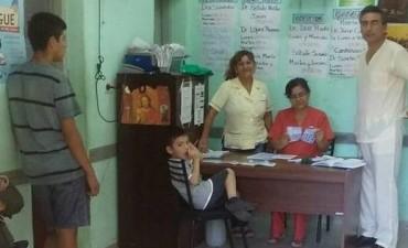 El municipio realizó una capacitación sobre el dengue en el CAMM del barrio San Fernando