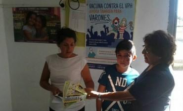 Se inició el ciclo de talleres en el Centro de Atención Médica Municipal del barrio 1º de Mayo