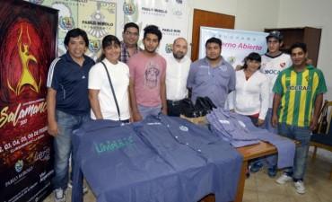 El intendente Pablo Mirolo realizó la entrega de ropa e indumentaria de trabajo a brigadistas