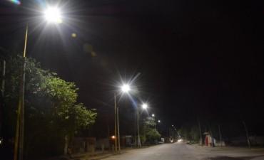 La Reconversión Lumínica LED avanza sobre la avenida Julio Argentino Jerez