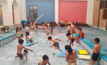 Niños del barrio Villa Eloisa participaron de la colonia de vacaciones municipal