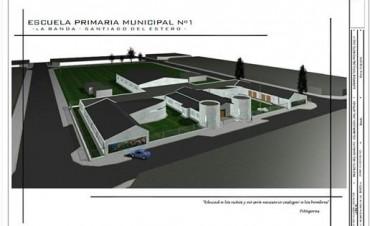 Mirolo destacó el gran avance de la obra de la Escuela Primaria Municipal y las grandes expectativas que genera
