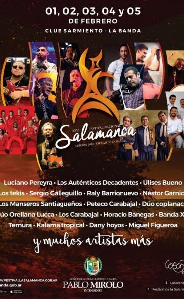 El Festival de La Salamanca nuevamente declarado de Interés Turístico Nacional