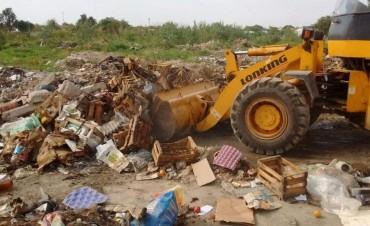 Servicios Públicos desplegó operativos de limpieza en los accesos a la ciudad