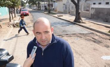 El Municipio concretó exitosamente el recarpeteo asfáltico de la calle Cervantes