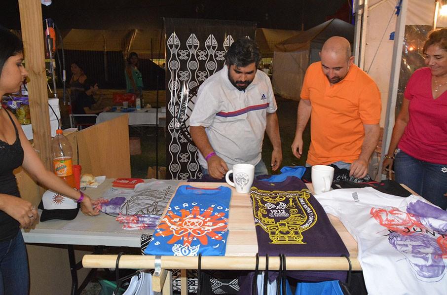 En apenas 48 horas se completó el cupo de la carpa de artesanos para el Festival de La Salamanca