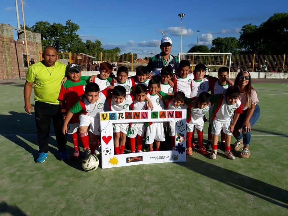 Exitosa convocatoria en el Campeonato de Fútbol Infantil