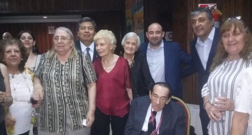 Mirolo acompañó al Prof. Oreste Pereyra en su distinción como Doctor Honoris Causa