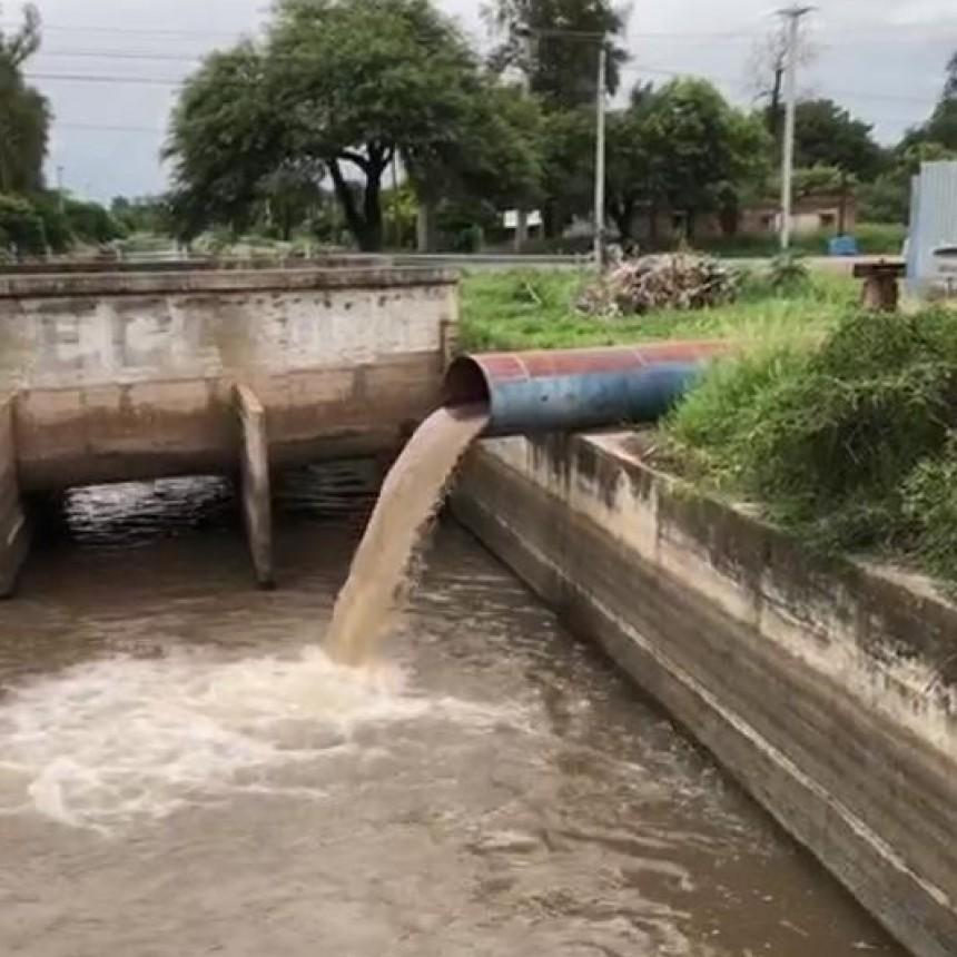 Secretaria de Obras Publicas de la Ciudad de La Banda continúa trabajando tras el temporal que azotó a toda la provincia