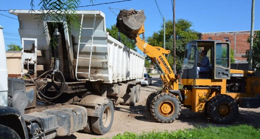 Realizan importante operativo de erradicación de basurales en la zona este de la ciudad