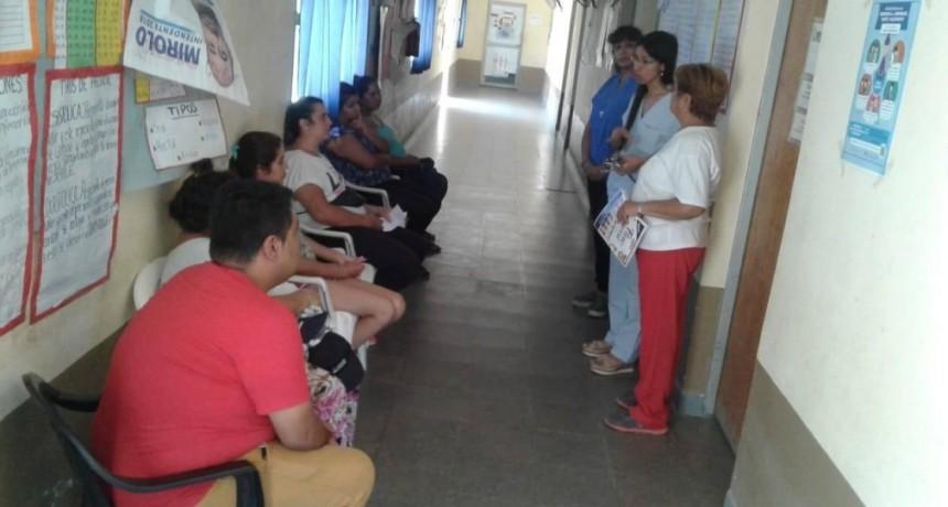 El CIC del B° San Carlos inició un ciclo de charlas sobre el cuidado de la salud