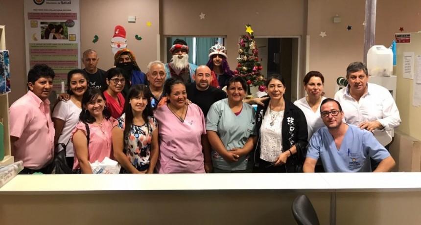 Mirolo y Los Reyes Magos visitaron a los pequeños en el  Hospital de Niños