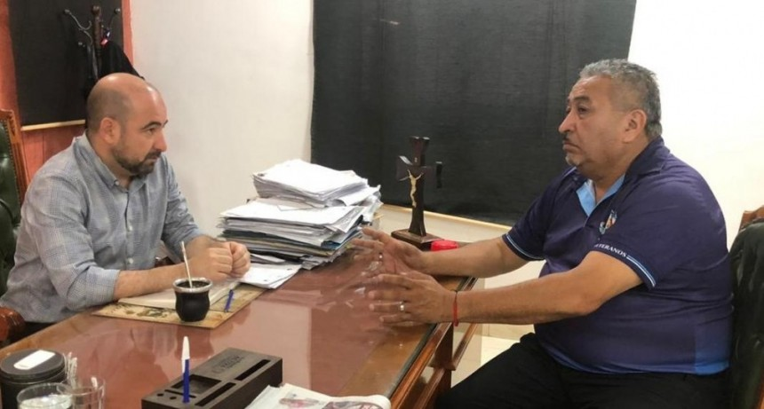 El intendente Mirolo y Ex Combatientes de Malvinas planean la agenda de actividades para este año
