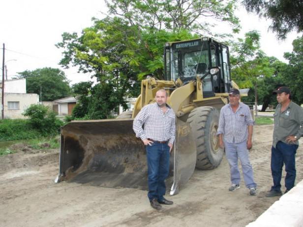 El Municipio continúa con la remodelación del Balneario