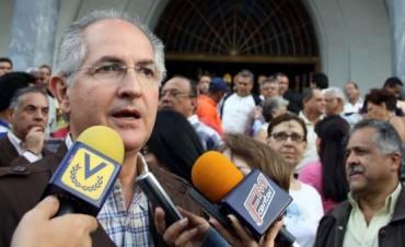 Venezuela: agentes de inteligencia del chavismo detuvieron al alcalde opositor Antonio Ledezma