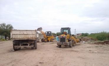 Se intensifica la erradicación de basurales en la ciudad