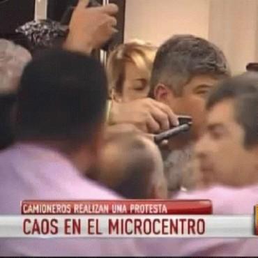 Pablo Moyano amenaza con un paro de camiones de caudales: