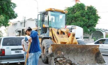 Importante despliegue de la Dirección de Higiene en mejoras para la ciudad