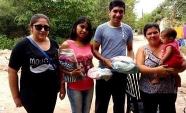 La Dirección de la Juventud comunal asistió a vecinos de Álamos 1 y Villa Suaya