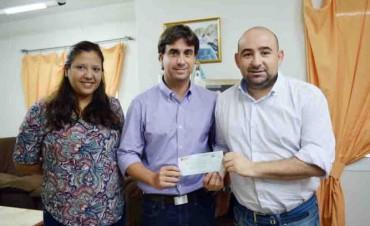 Plaza Vea entregó fondos al municipio para obras de infraestructura