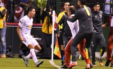 San Lorenzo perdió con la Liga de Quito en el debut en la Copa