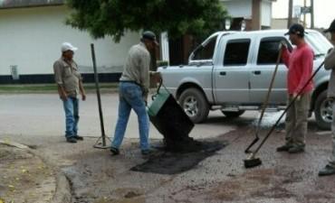 El plan integral de mejoramiento de calles llega al barrio Ampliación 1º de Mayo