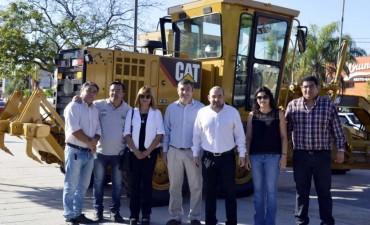 Mirolo sumó dos motoniveladoras a la flota de vehículos del municipio