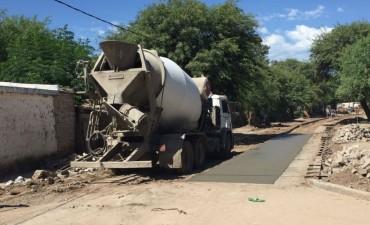 El Plan de mejoramiento y pavimentación de calles llegó al barrio Sarmiento