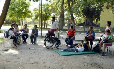 El testimonio de una madre de tres niños con discapacidad