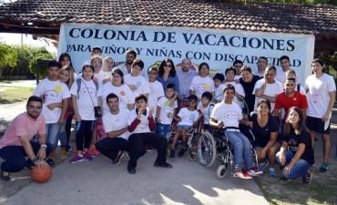 El municipio realizará la tercera edición de la colonia de vacaciones para niños con discapacidad