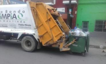 La Dirección de Higiene hizo la reposición de contenedores durante el fin de semana largo