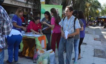 Se realizó una actividad solidaria y de concientización sobre la lucha contra el cáncer infantil