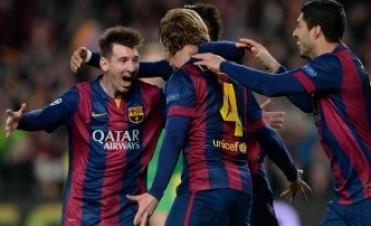 De la mano de Messi, Barcelona impuso su jerarquía sobre el City y avanzó en la Champions League