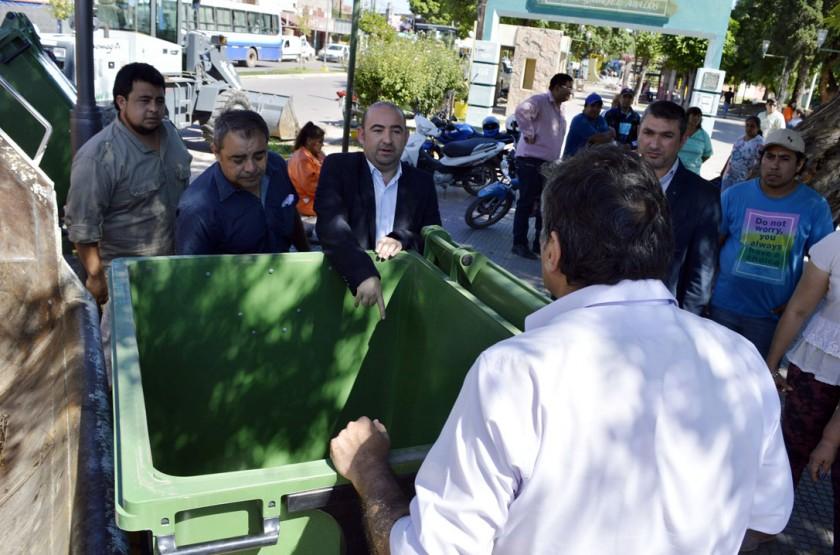 """Mirolo lanzó la segunda etapa de la campaña """"La Banda limpia es más linda"""" con más equipamiento para Higiene"""