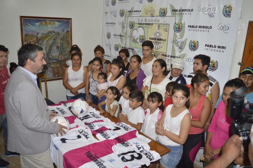 La Municipalidad de La Banda continúa apoyando al deporte amateur