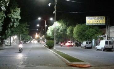 La reconversión lumínica llegó a Besares y Quintana durante el fin de semana
