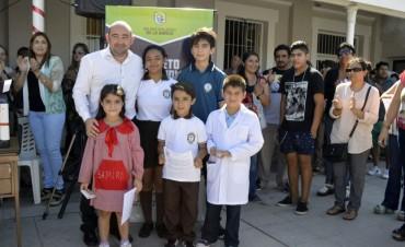 El intendente Mirolo lanzó el Boleto Estudiantil Gratuito que beneficiará a más de 15 mil chicos bandeños