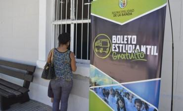 Crece la demanda de solicitudes para acceder al boleto estudiantil